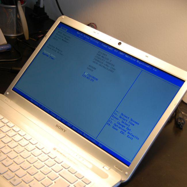 Kicserélt Laptop LCD Kijelző Ellenőrzése